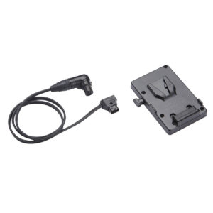 Anton Bauer V-Mount Battery Bracket with P-Tap to 3-pin XLR cable